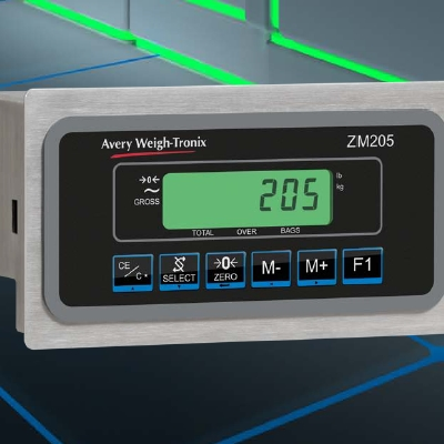 ZM205 Indicator – Fast Baggage Weighing