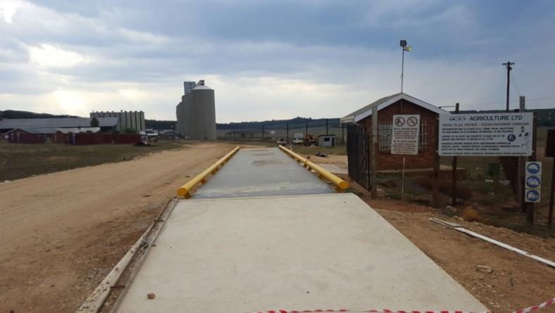 Weighbridge Installation – TWK Mkondo – Challenger 24x3m