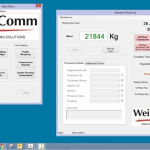 CommWeigh Standard Software Package
