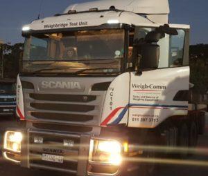 Weighbridge Test Truck